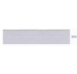 Biais unis gris perle 309