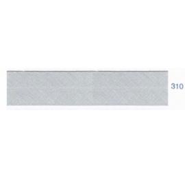 Biais unis gris acier 310