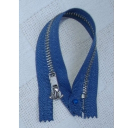 Fermeture 15 à 25 cm jean, pantalons bleu