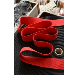 Sangle judo coton rouge
