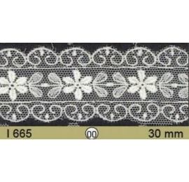 Broderie Anglaise tulle ref.665 30 mm