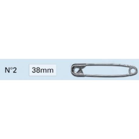Epingles de sûreté 38mm