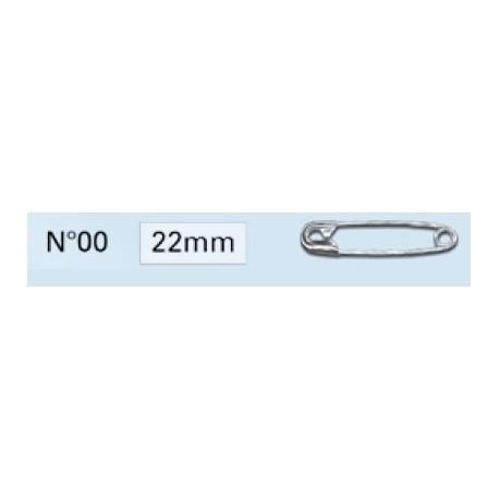 Epingles de sûreté 22mm