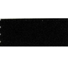 Ruban plissé noir