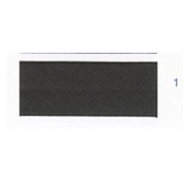 Biais unis stretch elastique noir