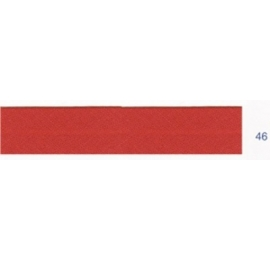 Biais unis stretch elastique rouge