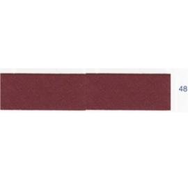 Biais unis stretch elastique bordeaux