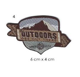 Ecusson Sommet Montagne outdoors