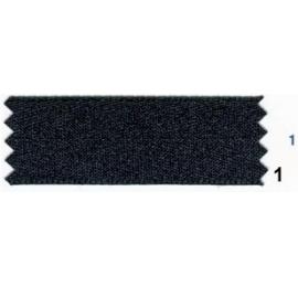 Ruban ceinture noir