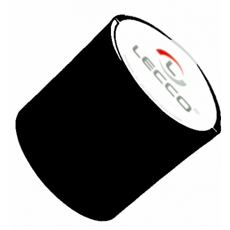 Ruban polyester noir largeur 70mm