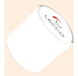 Ruban polyester blanc largeur 70mm