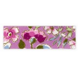 Biais motif à fleurs 1930