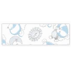 biais imprimé fantaisie dans les nuages coloris blanc 15