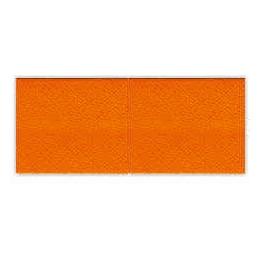 Biais unis Large Orange 71