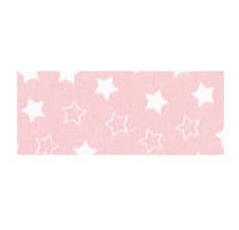 Biais imprimé 7703 étoile Rose