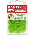 Boutons pressions 12,4mm Kamfix couleur