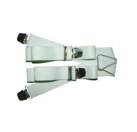 Bretelles pinces larges blanc
