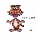 écussons dessins animaux tigre