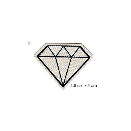 écussons dessin bd Diamant blanc