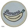 écussons dessin bd Banane