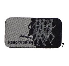 Ecusson Running 7