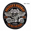 écussons Motorcycle Route 66