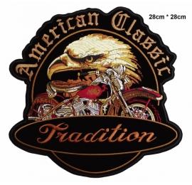 écussons Motorcycle Américan classic