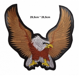 écussons Motorcycle Aigle ailes déployées