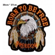 écussons Motorcycle Born to be free Freedom