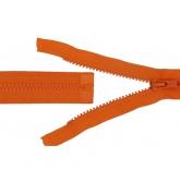 Fermeture séparable injecté Orange