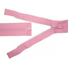 Fermeture séparable injecté rose