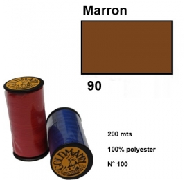 Fil goldmann 090 marron