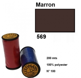 Fil goldmann 569 marron