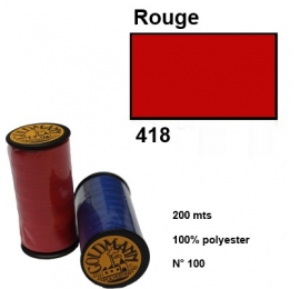 Fil goldmann 418 rouge