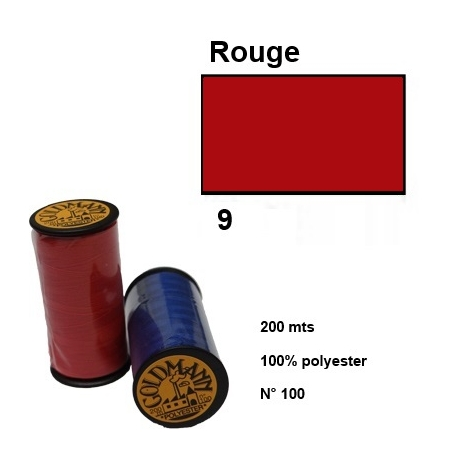 Fil goldmann 009 rouge