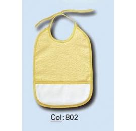 Bavoir à broder 802 jaune