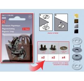 Fermeture magnétique 18 mm à griffes