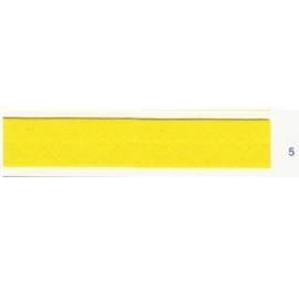 Biais unis jaune 5