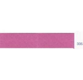 Biais polyester unis orchidée 335