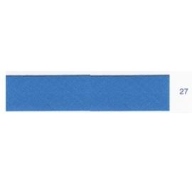 Biais unis bleu denim 27