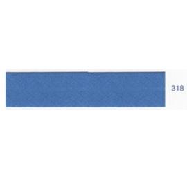 Biais unis bleu de cobalt 318