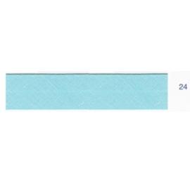 Biais unis turquoise foncé 24