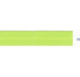 Biais unis vert tilleul 56