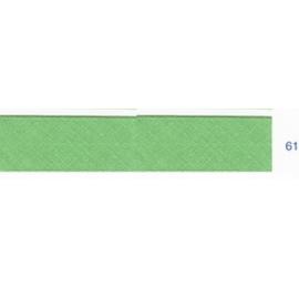 Biais unis vert asperge 61