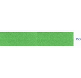 Biais unis vert malachite 358