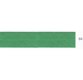 Biais unis vert mélèze 64