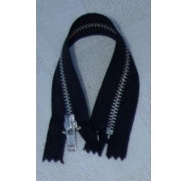 Fermeture pantalon 15 à 25 cm jean, noir
