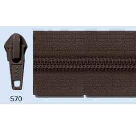 Fermeture au mètre chaine de 5 mm marron