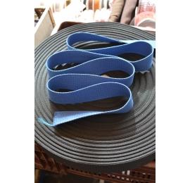 Sangle judo coton bleu