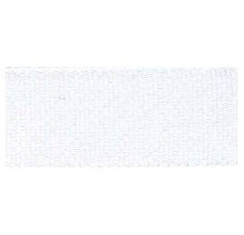 Ruban plissé blanc